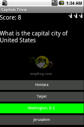 Capital trivia is a classic trivia game for android.