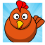 ✔ Crazy Chicken - Eggs Catch